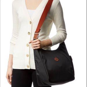 Longchamp Hobo Black Le Pliage Shoulder Bag